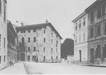 House of Professor Da Fano (demolished)