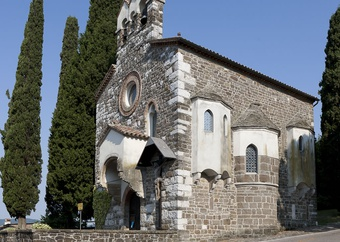 The Medieval Santo Spirito Church